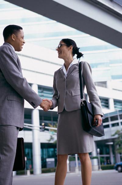правила делового знакомства: