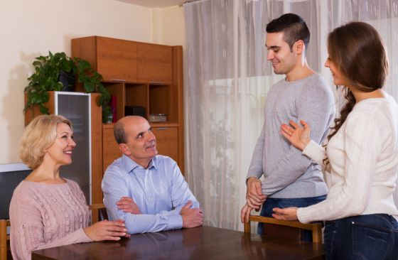 этикет знакомство с его родителями